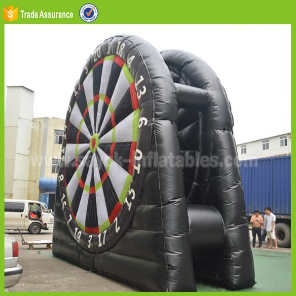 inflatable foot sports soccer dart game dart board sale inflatable football darts