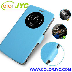 Round window case for LG G3