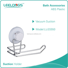 No screw suction cup toilet paper holder