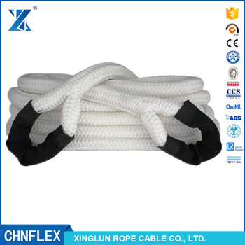 CHNFLEX 3 strand Nylon kinetic recovery towing rope for cross country cars