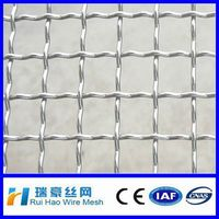 SS 202 Crimped wire mesh