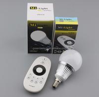 mi light wifi led bulb light dual color e14 can adjustable color temperature
