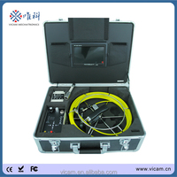 Portable handheld underground borehole pipe inspection cctv video camera V7-3188D
