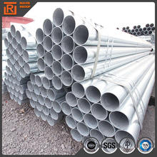 ASTM a53b schedule 40 60 carbon construct round tube/ hot dip galvanized steel pipe