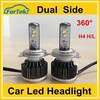 auto h4 9004 9007 h13 12v led headlight 80w