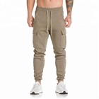 Wholesale bulk blank thick gym wear fitness casual mens joggers