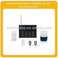 GSM Alarm System with Touch Keypad and Wireless Doorbell