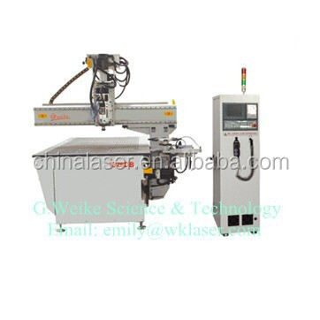 Low Price 5 Axis WK1325 CNC Router Machine 5d CNC Machine