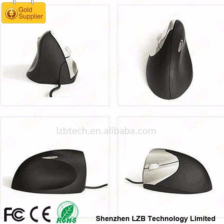 WM-06-L Left Hands Big Hands Wired USB Optical Vertical Ergonomic Mouse