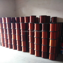 Insulating Varnish Motor Winding Wire / Transformer Enameled Coated Copper Wire Price