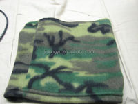 custom wholesale camouflage fleece neck warmer gaiter