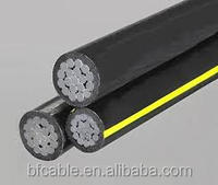 Service drop wire XLPE insulation ABC cable Pike triplex cable