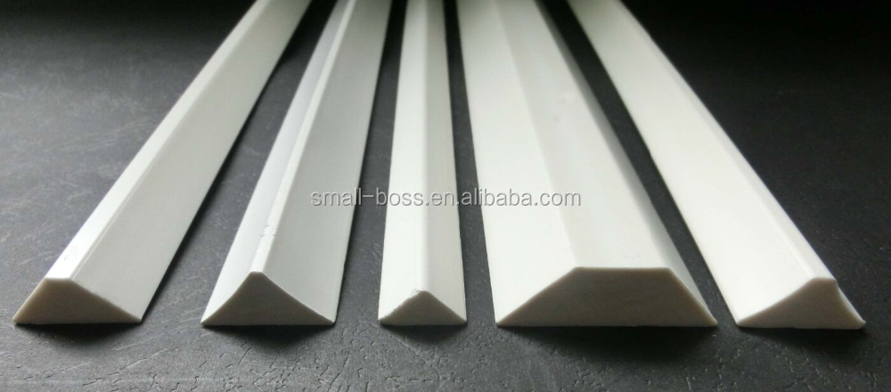 pvc foam fillet chamfer strips
