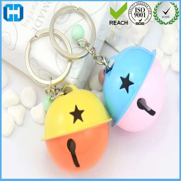 21 Years' Experience Decorative Bells Key Ring Chain For Handbag