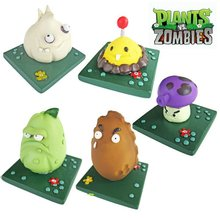 resin crafts Plants vs Zombies game character statues