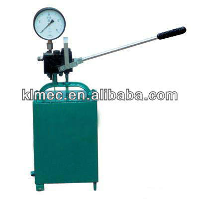 S-SY manual test pump/Pipeline test pump/Water pressure test machine