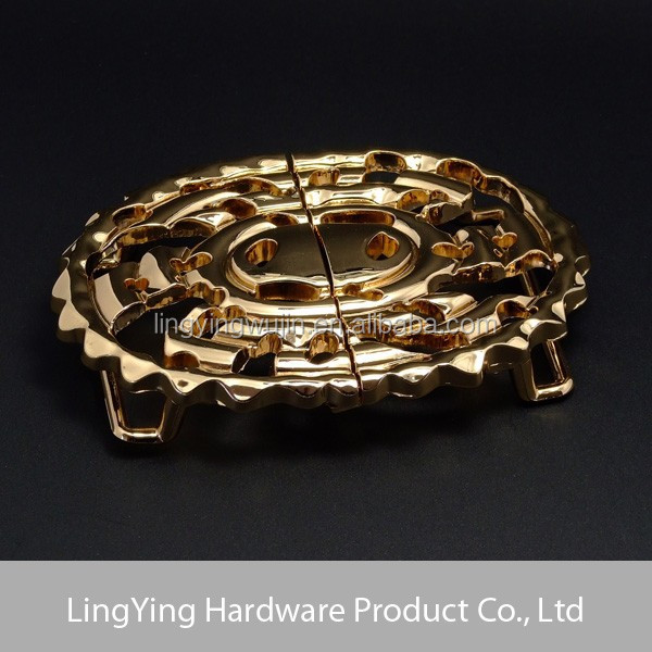 Wholesale high quality Custom Personalized O Ring Belt Buckle