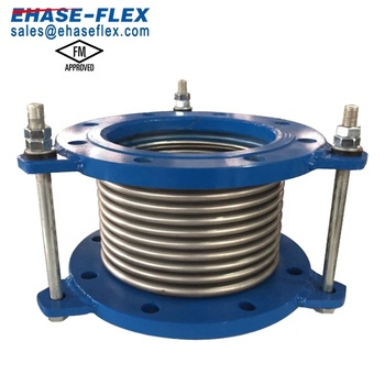 FM Approved Stainless Steel Flexible Connection Bellows with Tie Rods