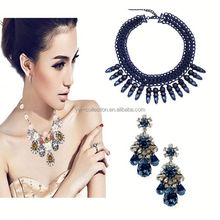 3PC MOQ free shipping Yiwu Collection Indian Colorful bead jewlery