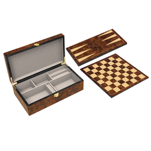custom OEM wooden shut the box game for chess
