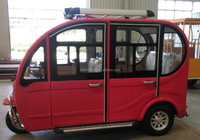 cargo box closed cabin passenger electric tricycle