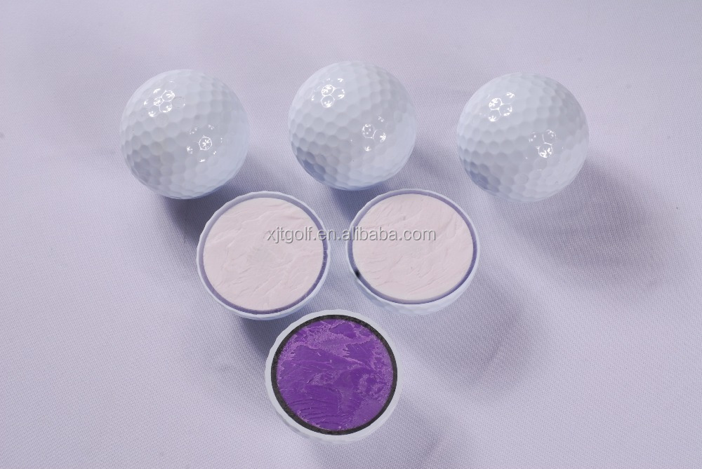 Wholesale Customized logo 3 layer tournament golf ball
