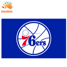 2018 New Style Cheap Wholesale nba Sports Team Philadelphi 76ers flags 5x8 or Custom Size Top Quality Durable Flag