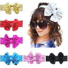 haoxie brand yiwu wholesale custom elastic hair band Baby children Head Band Rabbit ear headband bow