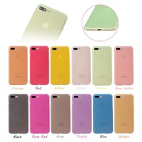 0.3 Mm Ultra Thin Slim Plastic Soft PP Phone Case For IPhone 6 6S 7 7Plus 8 X
