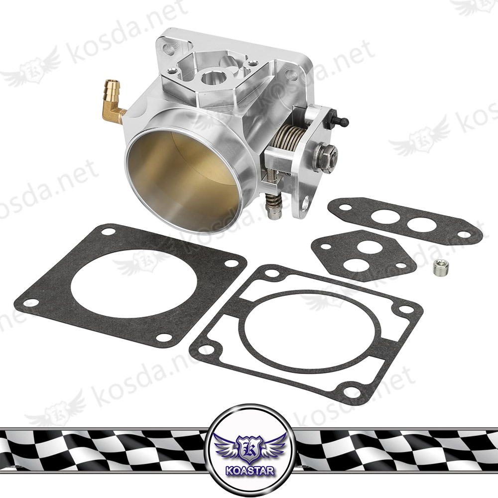 auto engine spare parts performance 75mm billet racing throttle body
