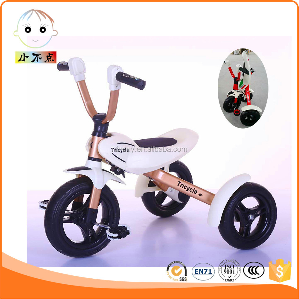 China popular sales folding kids tricycle price