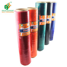 colorful hand use wrap stretch film