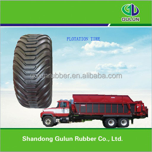 High truck flotation truck tyres 550/45*22.5 for sale