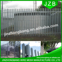 High security palisade fence color coated cheap supply