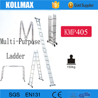 Collapsible Super Aluminum Fold Up Agility Scaffold Ladder