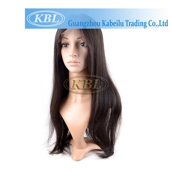 KBL high quality peruvian hair full lace wigs,peruvian hair lace wigs