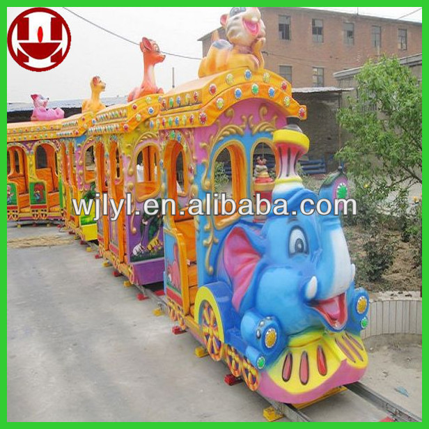 theme park animal kiddie rides train for sale