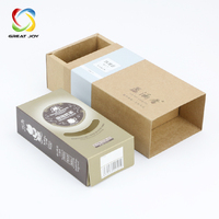 wholesale factory made cmyk printed custom cardboard sliding gift box paper