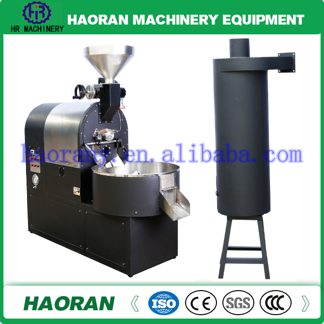 Factory direct sale high quality stainless steel small housing cocoa bean / coffee roaster machine