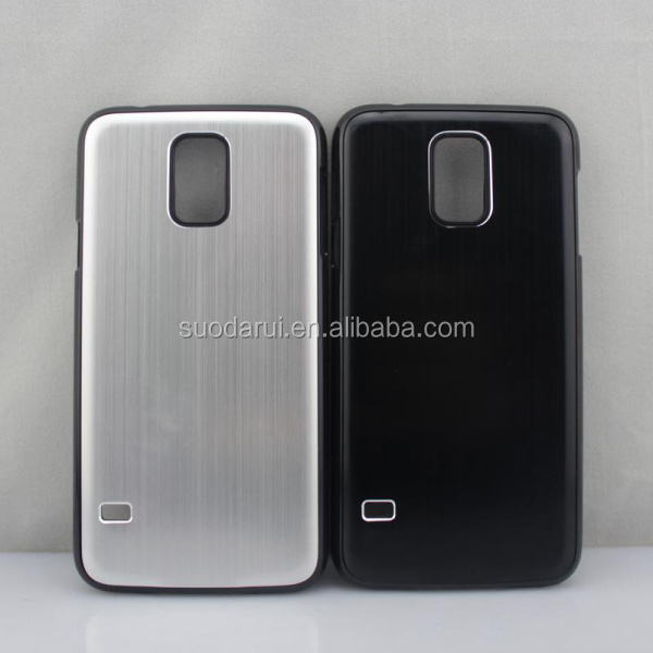 For Samsung Galaxy S5 i9600 Metal Aluminum Brushed Hard Case, Mix Colors