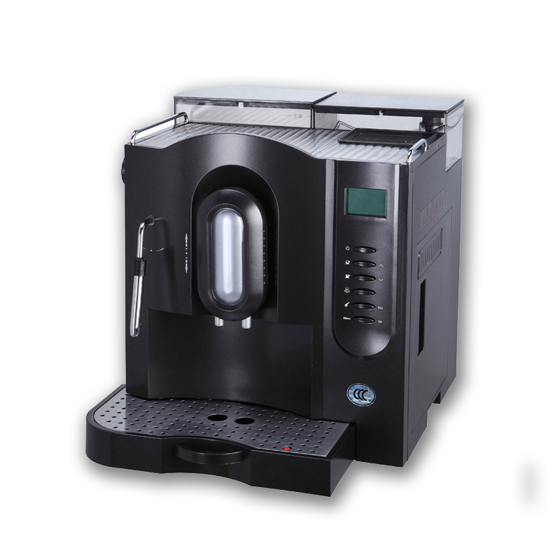 Fully Automatic Espresso Coffee Machine with Plastic Housing