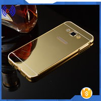 Smart Cheap Metal Mirror Back Bumper Mobile Phone Case For Samsung Galaxy Note 5 ,Mirror Case For Samsung Galaxy Note 5
