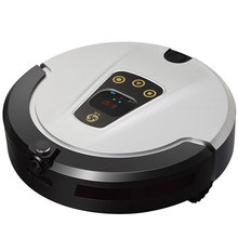 2016 automatic smart robot vacuum cleaner, latest wet and dry floor cleaner with remote