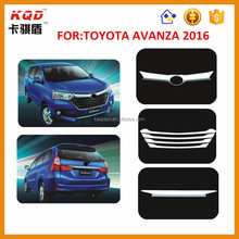 Wholesale price top selling toyota kits avanza front grille chrome kits toyota avanza accessories