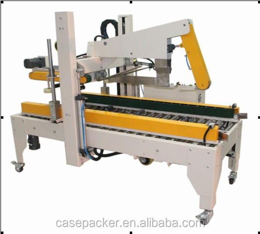 Fully-automatic flap folder carton box case sealing machine