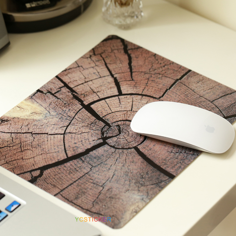 Wholesale Computer Accessories Wood Mouse Pad for Notebook