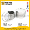 Tin can manufacturer Round Aluminum Air-tighed Lid Tin Can Container Box can food can