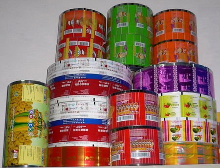 PE Packaging Film For Food And Beverages