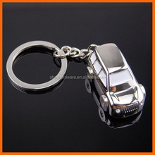 Wholesale metal classical car logo shaped keychain