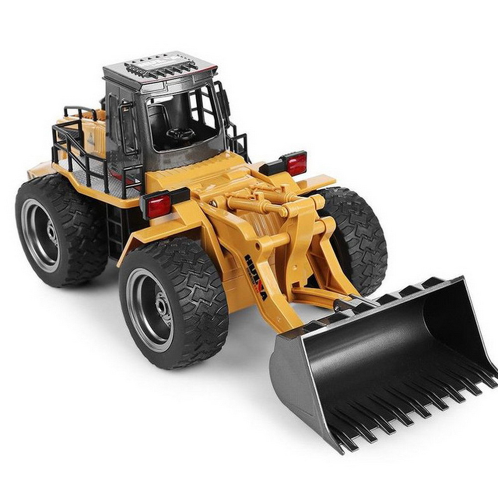 HUINA TOYS 1583 1/14 10CH Alloy RC Bulldozer Truck Front Loader Truck Engineering Construction Toy Car Vehicle RTR RC <strong>Model</strong>